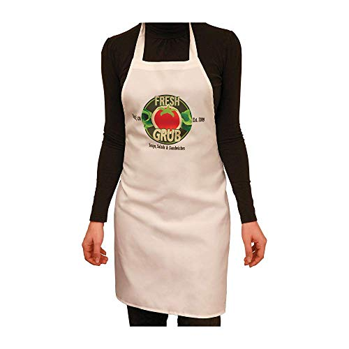 Custom Apron, Upload Your Picture, Logo, or Design, Personalized Sublimated Printed Apron ()