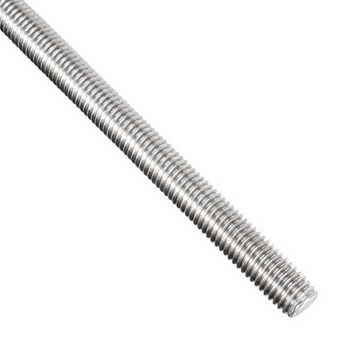 uxcell M8 x 250mm Fully Threaded Rod, 304 Stainless Steel, Right Hand Threads