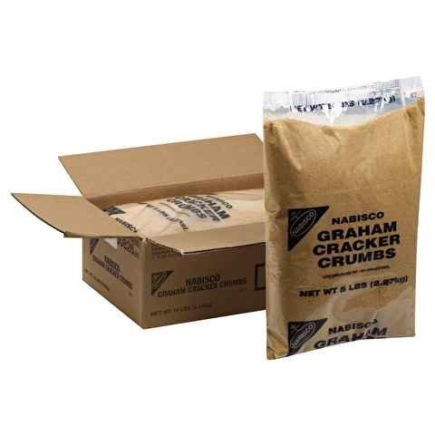Nabisco, Graham Cracker Crumbs, 5 lbs. (2 Count)