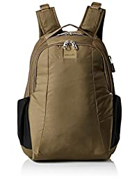 PacSafe Metrosafe LS350 Anti-Theft 15l Travel Backpack, Earth Khaki One Size