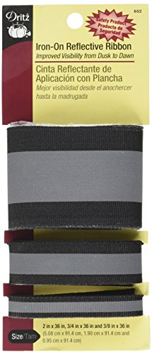 dritz-652-iron-on-reflective-ribbon-combo-black