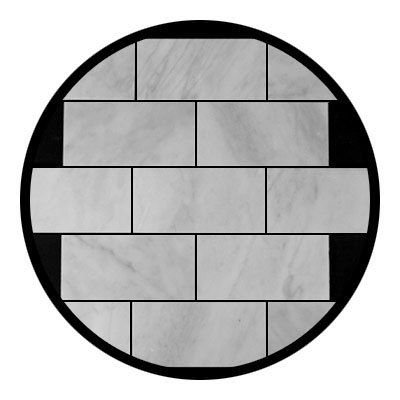Carrara Marble Italian White Bianco Carrera 3x6 Marble Subway Tile Honed (Honed Or Polished Marble For Shower Walls)
