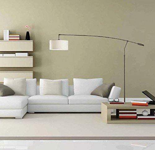 Lámparas PIE de Salón: Modelo ARCO LC de 190X160X40cms: Amazon.es ...