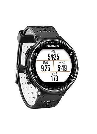 ccc281b2b0 GARMIN(ガーミン) ランニングウォッチ GPS ライフログ ForeAthlete 230J ブラック×ホワイト & 液晶