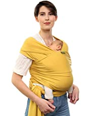 Boba Wrap Baby Carrier, Original Stretchy Infant Sling, Perfect for Newborn Babies and Children up to 35 lbs