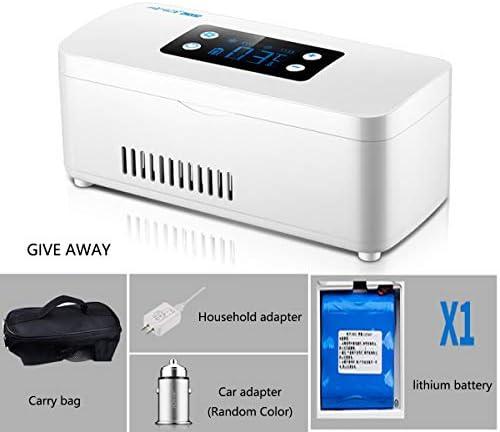 新しいミニ冷蔵庫インスリンクーラートラベルケースポータブルインスリン冷蔵庫/冷凍薬小さな冷蔵庫を充電 (Size : A)