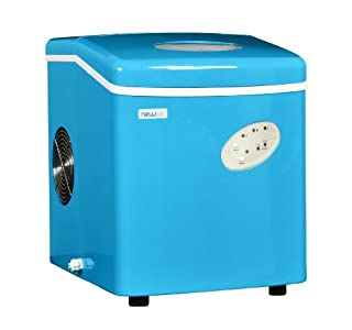 NewAir Portable Ice Maker 28 lb. Daily, Countertop Compact Design, 3 Size Bullet Shaped Ice, AI-100CB, Blue (B00KNL855I) | Amazon price tracker / tracking, Amazon price history charts, Amazon price watches, Amazon price drop alerts