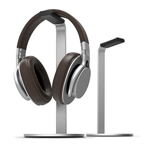 elago H Stand [Silver] - [Premium Aluminum][Scratch-Free Padding][Perfect Height][Compatible with All Headphones][Modern Design] Gaming and Audio Headphones