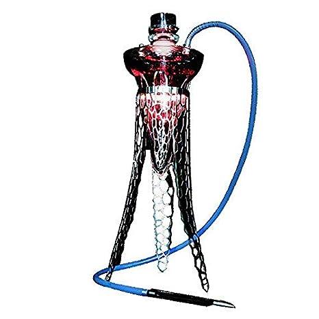 TYX HOME Cachimba árabe Fumador de Acero Inoxidable Medusa ...