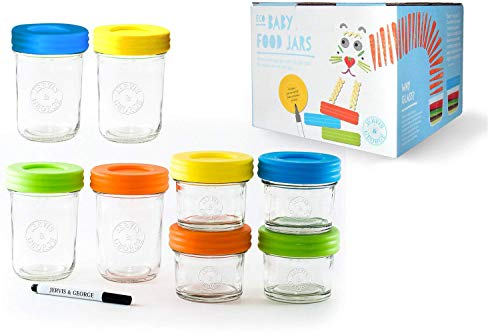 glass baby food containers 4 oz - 3