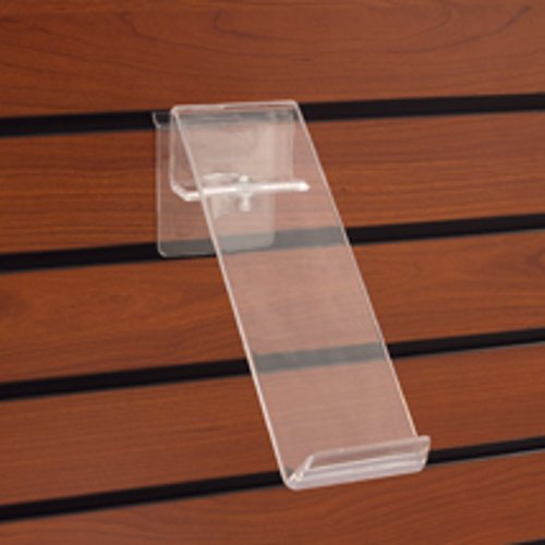 Count of 50 Acrylic Swivel Shoe Shelf with heel stop 2 3/4 in. W x 9 in. H by Shoe Shelf