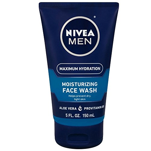 NIVEA FOR MEN Original Moisturizing Face Wash 5 oz (Pack of 6)