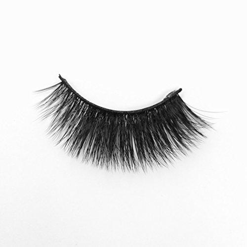 Kittee Lash Faux Mink Non-Magnetic False Eyelashes : PEEP SHOW