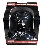 Nolan Arenado Colorado Rockies Signed Autographed Mini Helmet PAAS COA