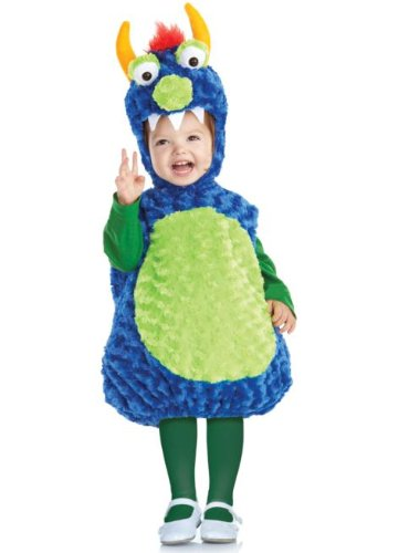 Underwraps Kid's Underwraps Baby's Silly Monster Costume, X-Large Childrens Costume, blue, X-Large