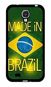 Made in Brazil TPU RUBBER SILICONE Phone Case Back Cover Samsung Galaxy S4 I9500