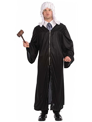 Forum Novelties Men's The Judge Adult Costume, Black, One -