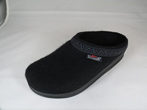Pictures of Women's Wool-Flex clog L108p Black Graphite 4