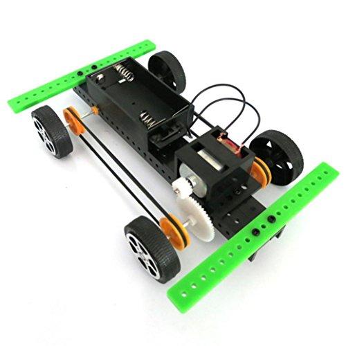 Lookatool 1 Mini Solar Powered Toy DIY Car Kit Children Educational Gadget Hobby
