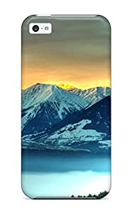 New Style 9020852K33530551 New Panoramic Protective Iphone 5c Classic Hardshell Case