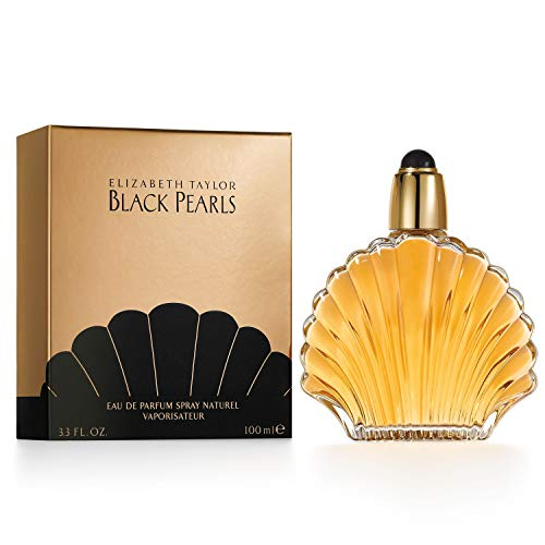 Black Pearls by Elizabeth Taylor for Women, Eau De Parfum Spray, 3.3-Ounce