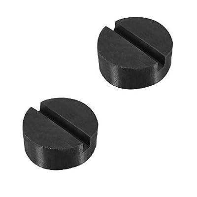 Leaftree - Jack Stand Jacking Pad Adapter Jacking Point Pad Durable Premium Jack Pad Power Tool Maintenance Black