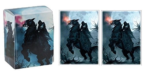 mtg deck box with sleeves - 6