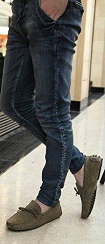Comfort Driving Walking Suede on Shoes Casual Khaki CRC Slip Boat Mens Doug Fashion Leather Training qpxapftzw