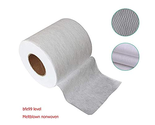 20m Disposable Meltblown Cloth Nonwoven Filter Fabric for Mask Filtering Layer Application,Replacement Pre Filter Cloth