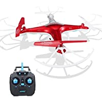 Owill JJRC H97 2.4GHz 4CH 6-Axis LED With Camera RC 0.3M HD Camera Quadcopter Drone (Orange)