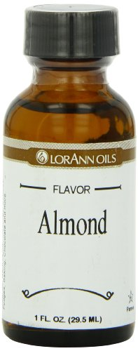 LorAnn Artificial Flavoring Oils, Almond Oil (Bitter Almond Oil), 1 Ounce Bottle