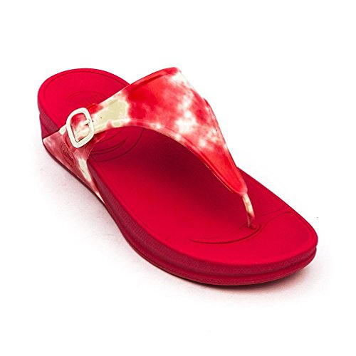 FitFlop Super Jelly - Chanclas Al Dedo Mujer Raspberry
