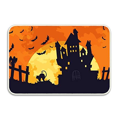 Viola North Scary Halloween Indoor/Outdoor Doormat Kitchen Rugs]()