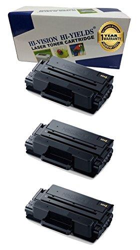 HI-VISION 3 Pack Compatible Samsung MLT-D203L, 203L, MLT-D203L/XAA High Yield Black Toner Cartridge Replacement for ProXpress M3320ND,M3370FD,SL-M3820DW,M3870FW,M4020ND,M4070FR Printer