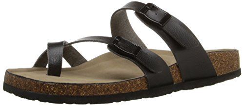 Paris Toe Women's Sandal Girl Madden Ring Black Bryceee wPt0T1fx