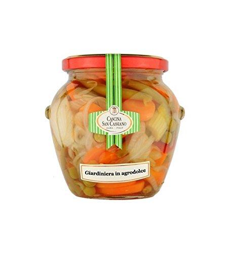 ITALIADELIZIE - Verduras Agridulces 570gr: Amazon.es: Alimentación y bebidas