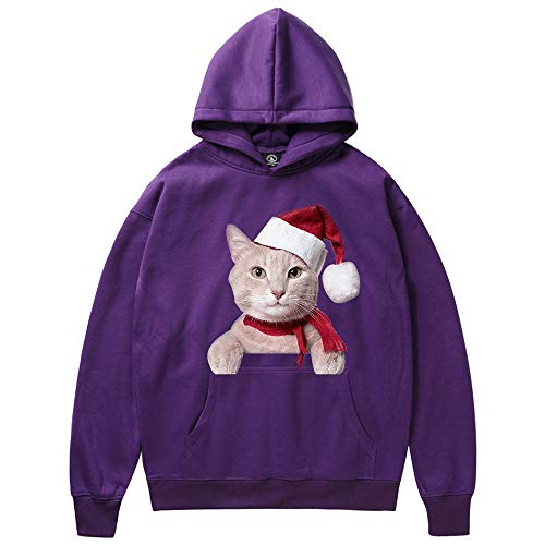Seaintheson Men's Christmas Hoodie Clearance, Winter Cool Pullover