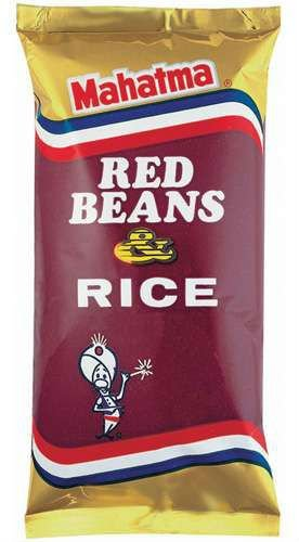 Mahatma, Red Beans & Rice, 8-Ounce Bag (Pack of 2) by Mahatma