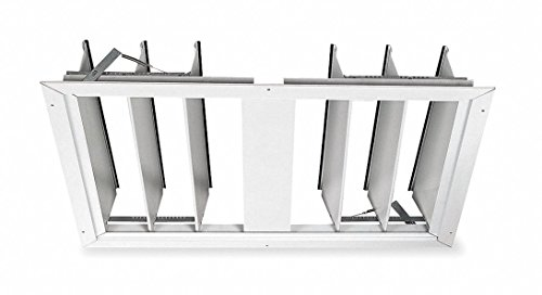 "Dayton 36"" Whole House Fan Economy Ceiling Truss Shutter/Ceiling Shutter, 34"" x 30"" Opening Required"