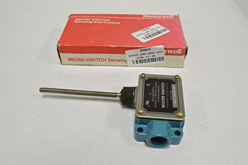 MICROSWITCH BAF1-2RN18-RH LIMIT SWITCH WOBBLE COIL SPRING LEVER O SPDT CONTACT CURRENT AC MAX:20A CONTACT CONFIGURATION:SPDT LIMIT SWITCH ACTUATOR:WOBBLE COIL SPRING CONTACT VOLTAGE AC MAX:480V