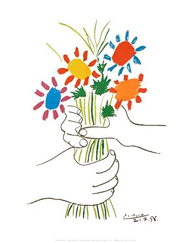 Petite Fleurs Art Print by Pablo Picasso 11 x 14in by Bruce Teleky from Bruce Teleky