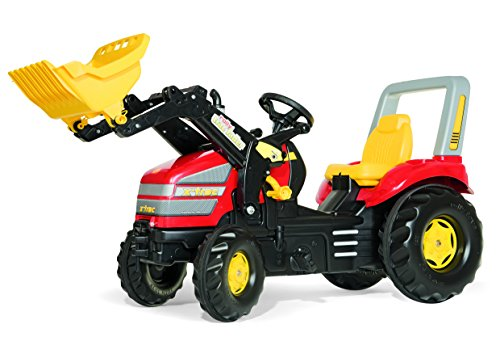 Rolly Toys X-Trac Tractor with Front Loader, Red by Rolly