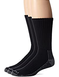 Men's 3 Pack Heavyweight Cushion Compression Work Crew Socks