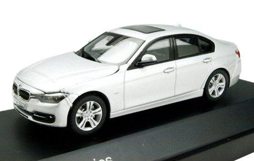 1/43 BMW 3シリーズ F30 グレイシャーシルバー 左ハンドル PA-91015