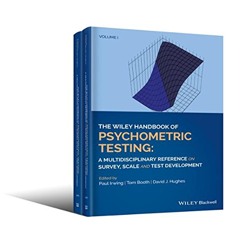 The Wiley Handbook of Psychometric Testing: A Multidisciplinary Reference on Survey, Scale and Test Development