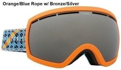 オレンジ/ブルーロープW /ブロンズElectric eg2.5メンズ球状スキースノーボードゴーグル+レンズ