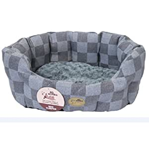 40 Winks Oval Sleepers Gris Comprobar