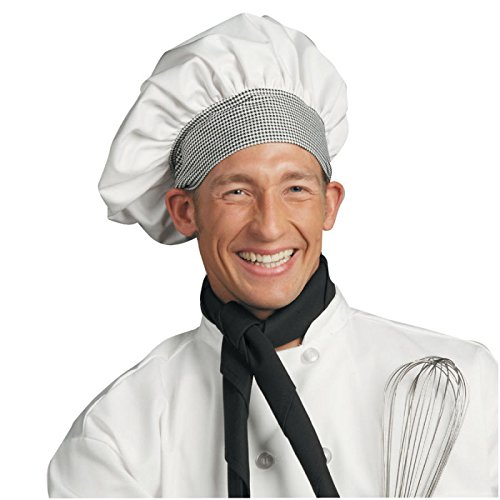 (Poplin Chef Hat (Minimum Order of 6), White)