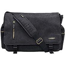 "Cocoon Innovations Urban Adventure 16"" Messenger Bag (MMB2704BK)"