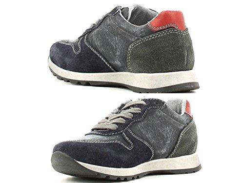 Nero Giardini Junior - Zapatillas de Piel para niño turquesa